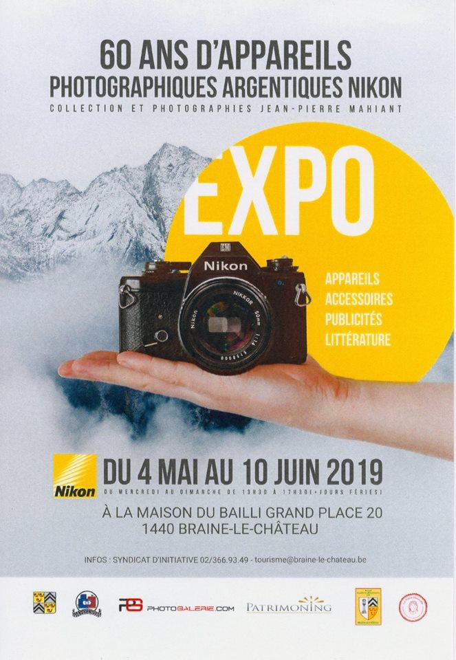 Exposition 60 Ans De Nikon à Braine Le Château Patrimoning